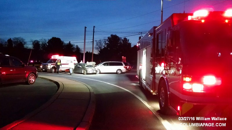 Two car Accident Route 22 & Route 295 Canaan 03/27/16